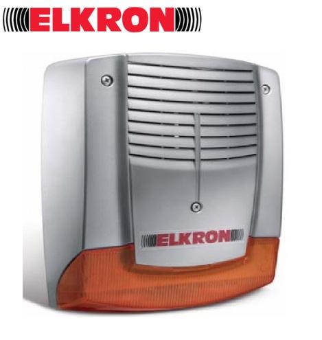 sirenes alarme exterieure elkron securite maroc. Black Bedroom Furniture Sets. Home Design Ideas
